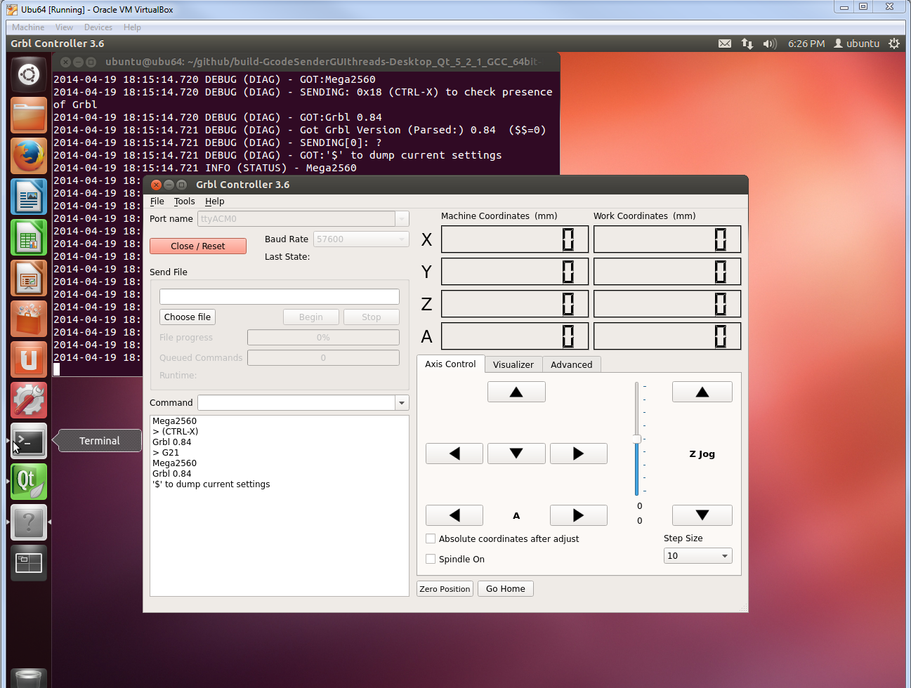 B Building Grblcontroller For Linux Zapmaker Pi Cnc Projects Buy Alamode Controller Calculator Raspberry Option