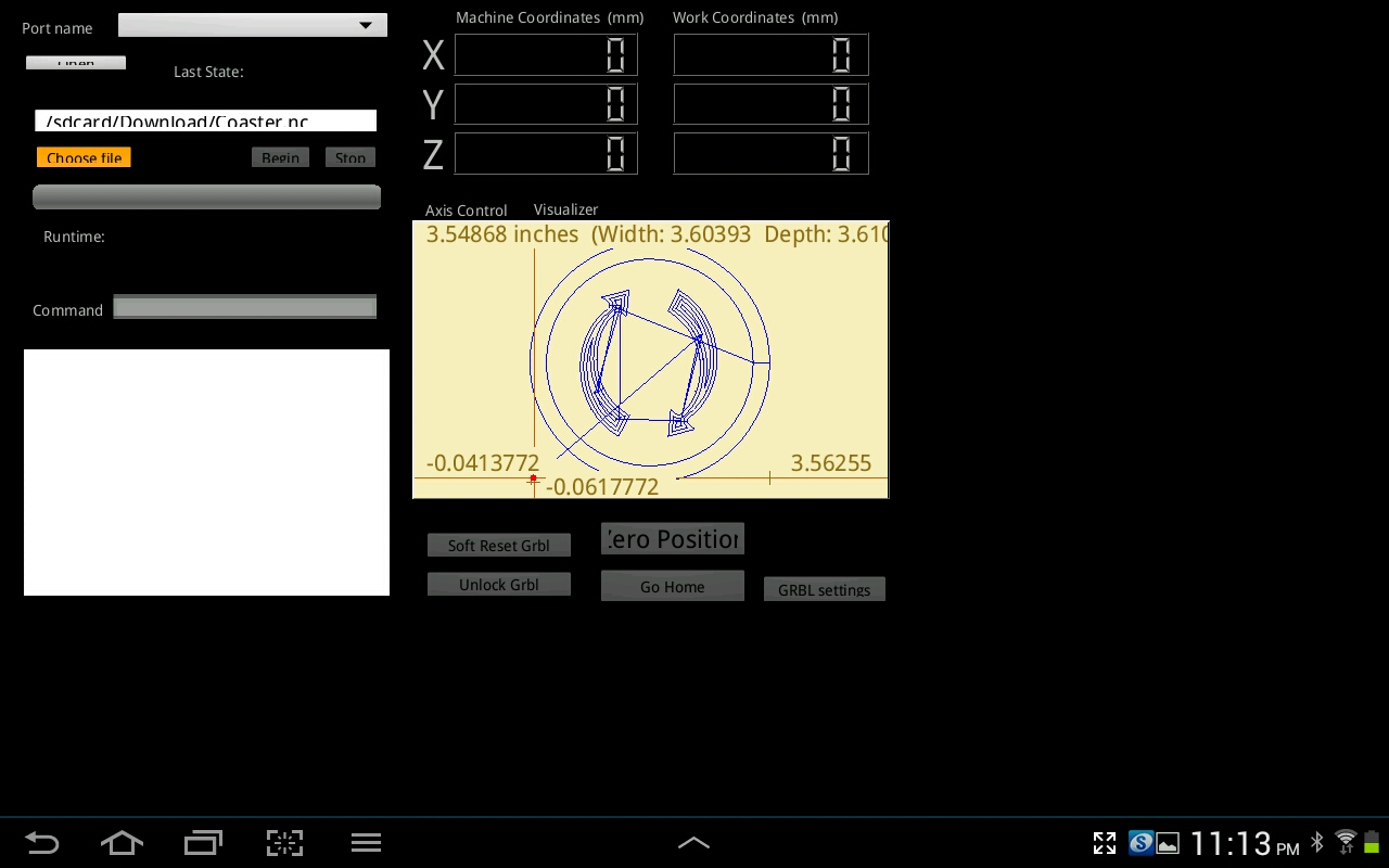 5 Android Grbl Controller With Raspberry Pi Zapmaker Cnc Projects Buy Alamode Calculator Notes