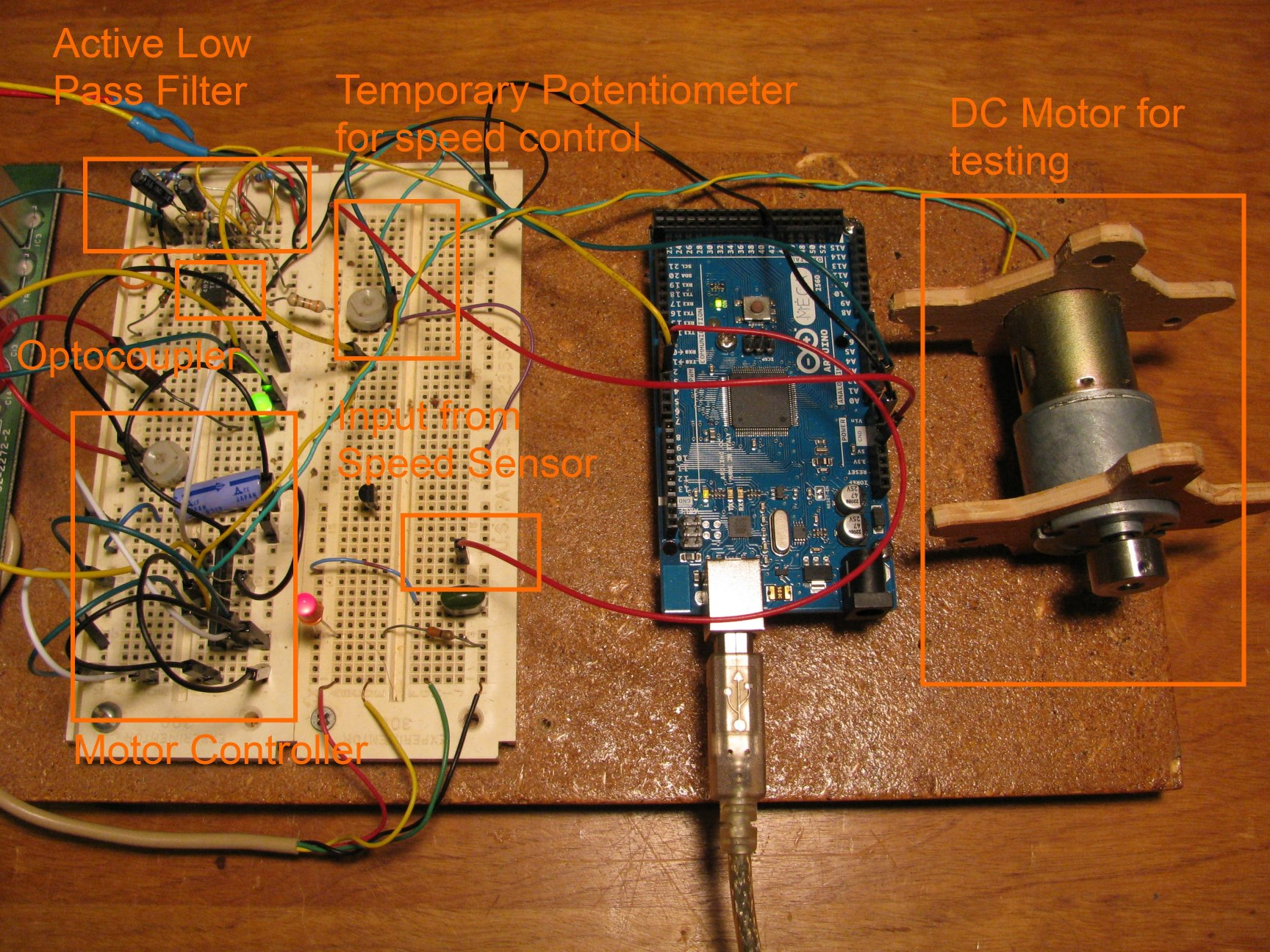 Analog Motor Control Using Pwm To Dc Conversion Zapmaker Bldc Circuit Arduino Here Is The Code That Runs Controller